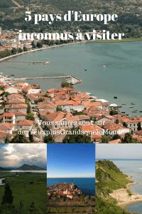 5 pays d'Europe inconnus à visiter