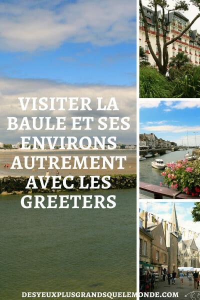 Venez faire connaissance avec les Greeters de la Baule pour une visite personnelle et originale de la Baule et de ses environs.