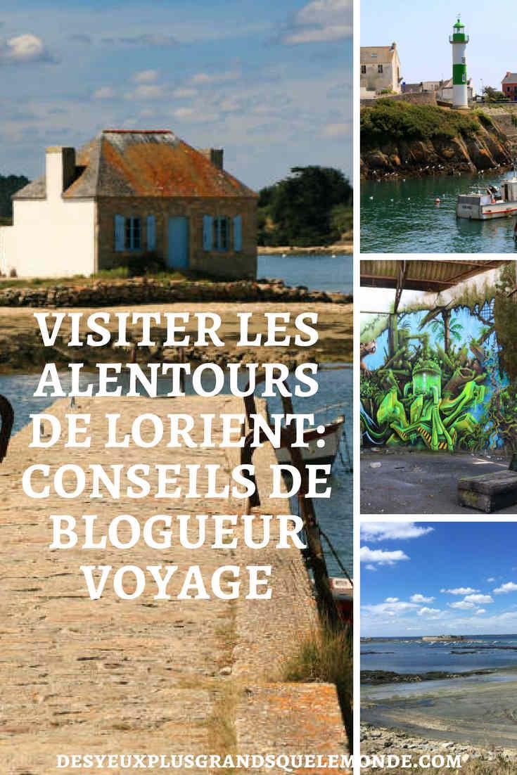 Venez faire la connaissance d'Eulalie du blog Jolisvoyages et de ses conseils pour mieux visiter les alentours de Lorient.