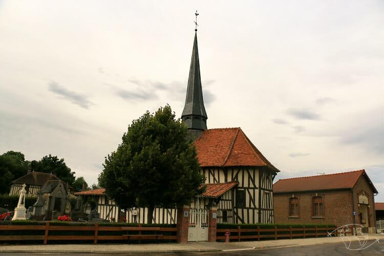 Autour du Lac du Der - Eglise de Bailly le Franc