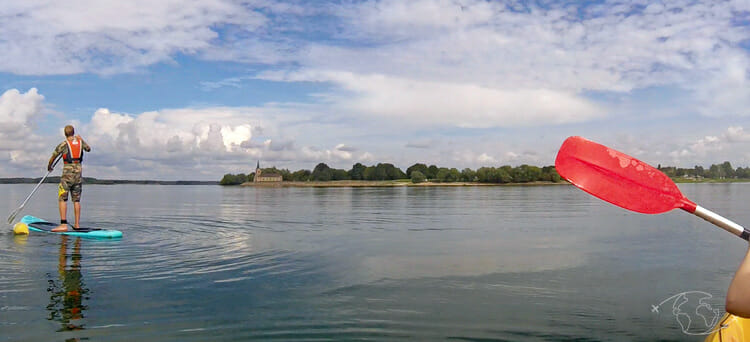 Lac du Der - Kayak avec Benjamin du Funcenter