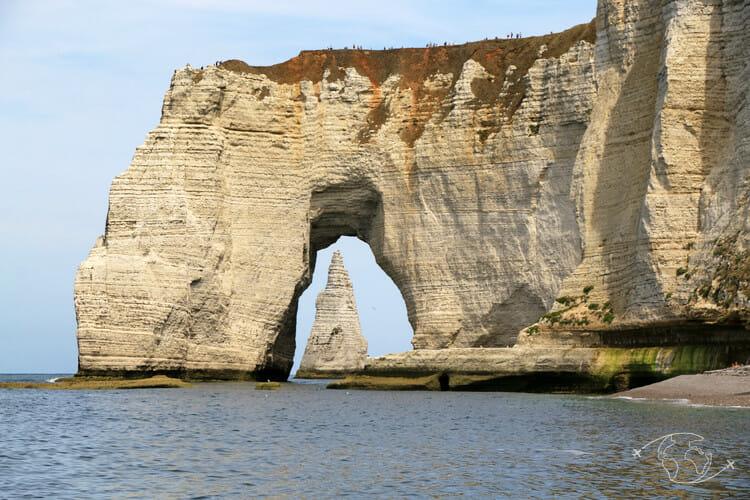 Falaises d'Etretat - L'angle de vue qui fait la renommée des falaises d'Etretat