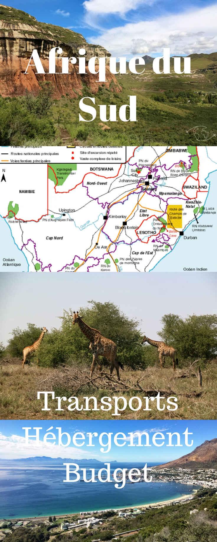 Après 3 semaines en Afrique du Sud, je partage tous mes bons plans et infos pour vous aider à préparer votre voyage de rêve ! #afriquedusud #voyagederêve #transport #hébergement #budget #bonsplans #pascher