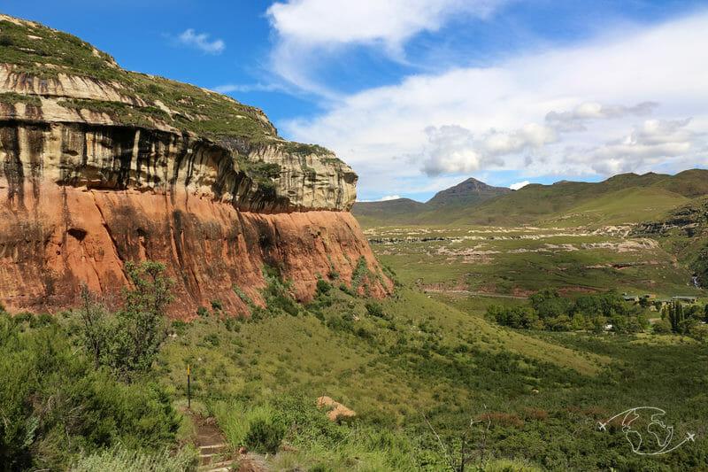 Dans le Drakensberg près de Clarens - Afrique du Sud