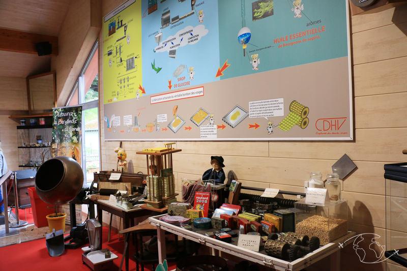 Confiserie des Hautes Vosges - Musée du bonbon CDHV et fin de la visite