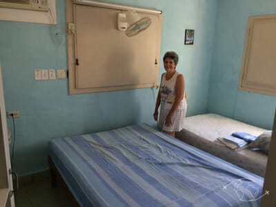 Plongée à Cuba - Oliva dans la chambre