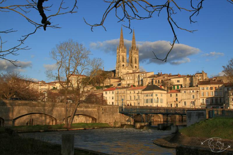Randonner en Deux-Sèvres - Vue de la ville de Niort