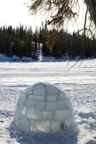 Igloo à Blachford Lake Lodge