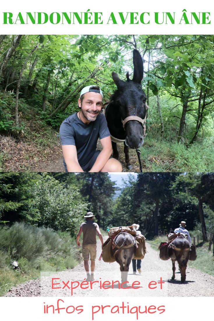 Mon Expérience de Randonnée avec un Ane, des Infos Pratiques et tout plein de Trucs et Astuces pour vous permettre d'avoir La Plus Belle des Aventures :) #randonneeavecunane #ane #randonnee #trekking #stevenson #lozere #occitanie #itinerance