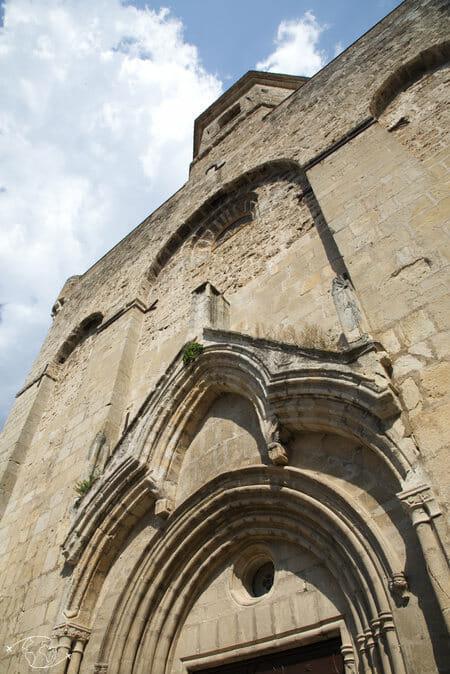 Randonnée Larzac - Eglise de Nant