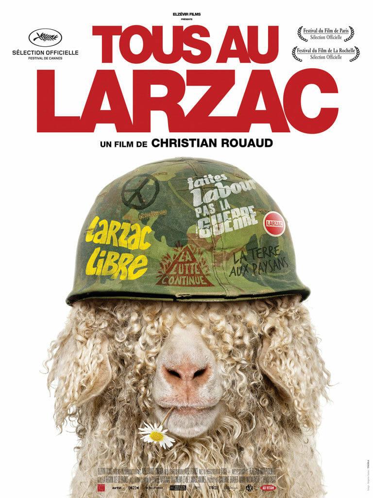 Tous au Larzac - affiche du film de Christian Rouaud