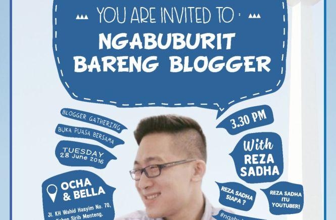 Ngabuburit, Blogger, Jakarta, BBlog, BCA