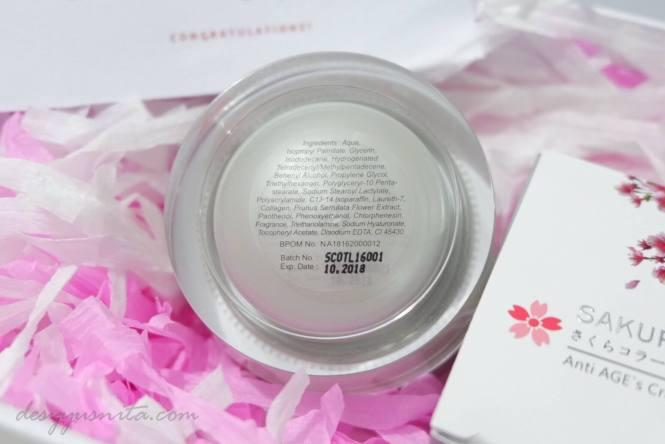 Kerutan, Sakura Collagen, Produk Jepang, Kolagen, Make up, Skincare, Beauty, Review, Meiji Indonesia, Meiji, Anti AGE's