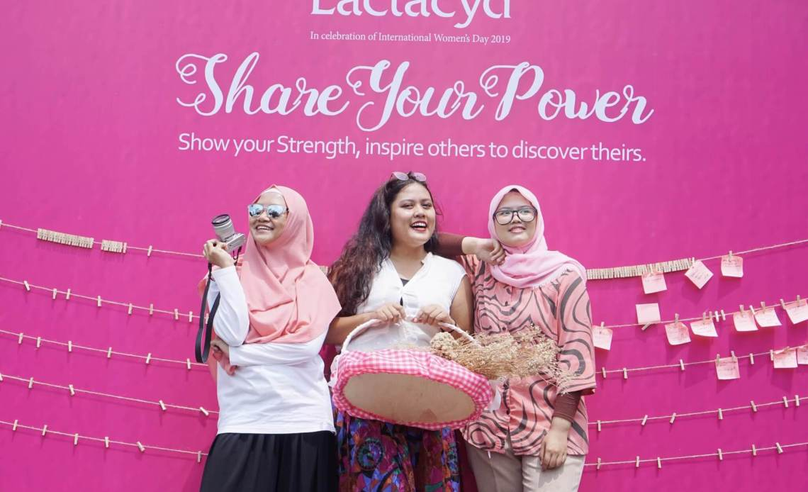 Lactacyd, Share Your Power, Perempuan Indonesia