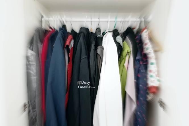 Teknik Menyimpan pakaian