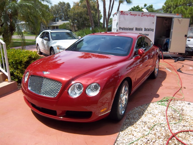 Mobile Automobile Detailing Bentley