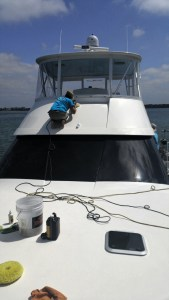 Comprehensive Exterior Yacht Detailing