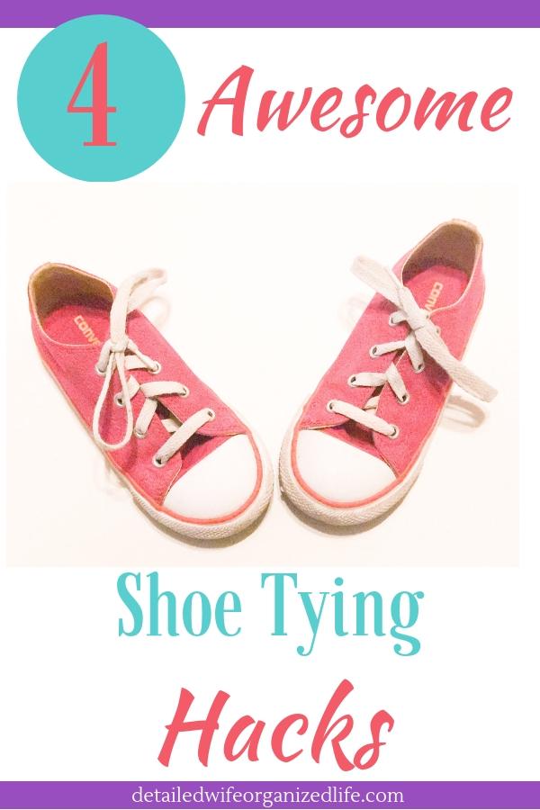 4 Awesome Shoe Tying Hacks
