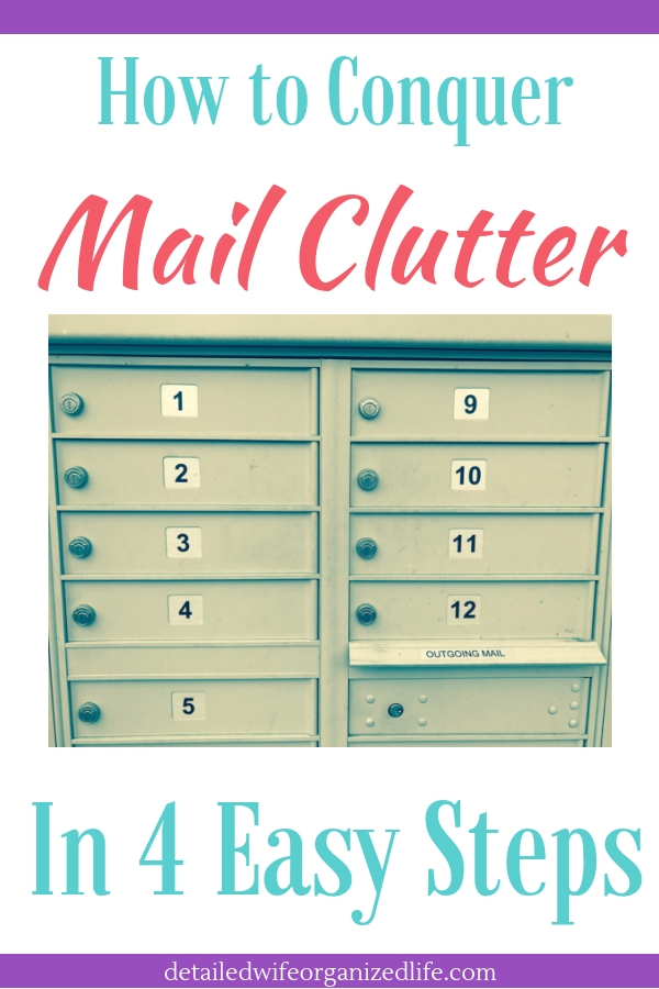 How to Conquer Mail Clutter