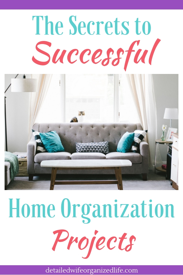 The Secrets to Successful Home Organization