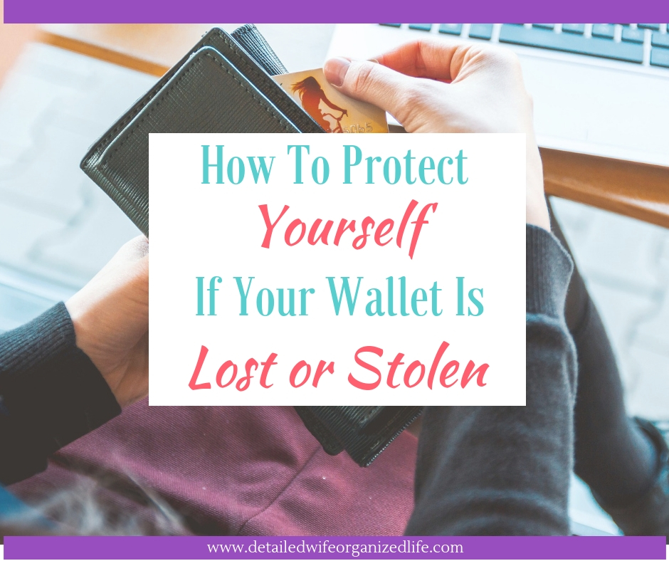 How to Protect Yourself If Your Wallet Is Lost Or Stolen