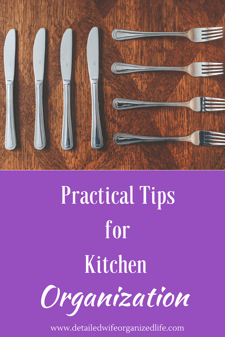 Practical Tips for Kitchen Organization