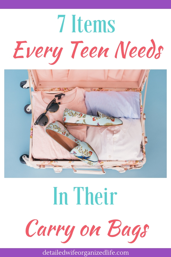 7 Items Your Teen Needs In Their Carry On Bags