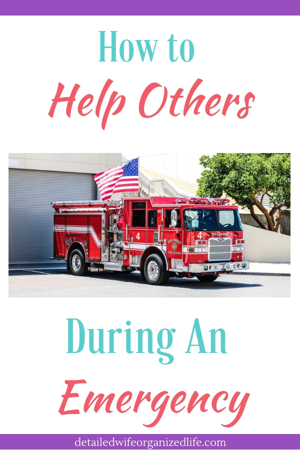How to Help Others During An Emergency
