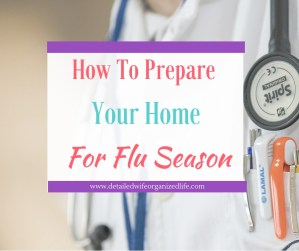 How Prepare Your Home For Flu Season