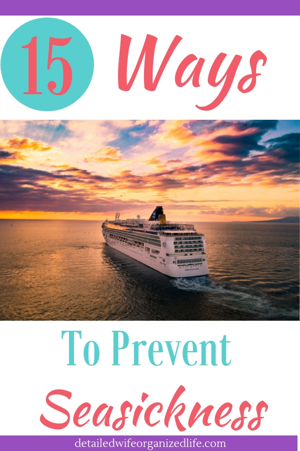 15 Ways to Prevent Seasickness