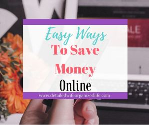 Easy Ways to Save Money Online