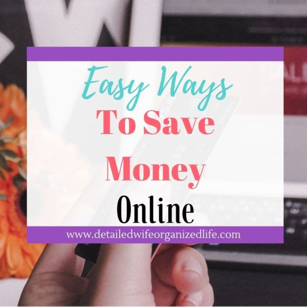 Easy Ways to Save Money and Time Shopping Online
