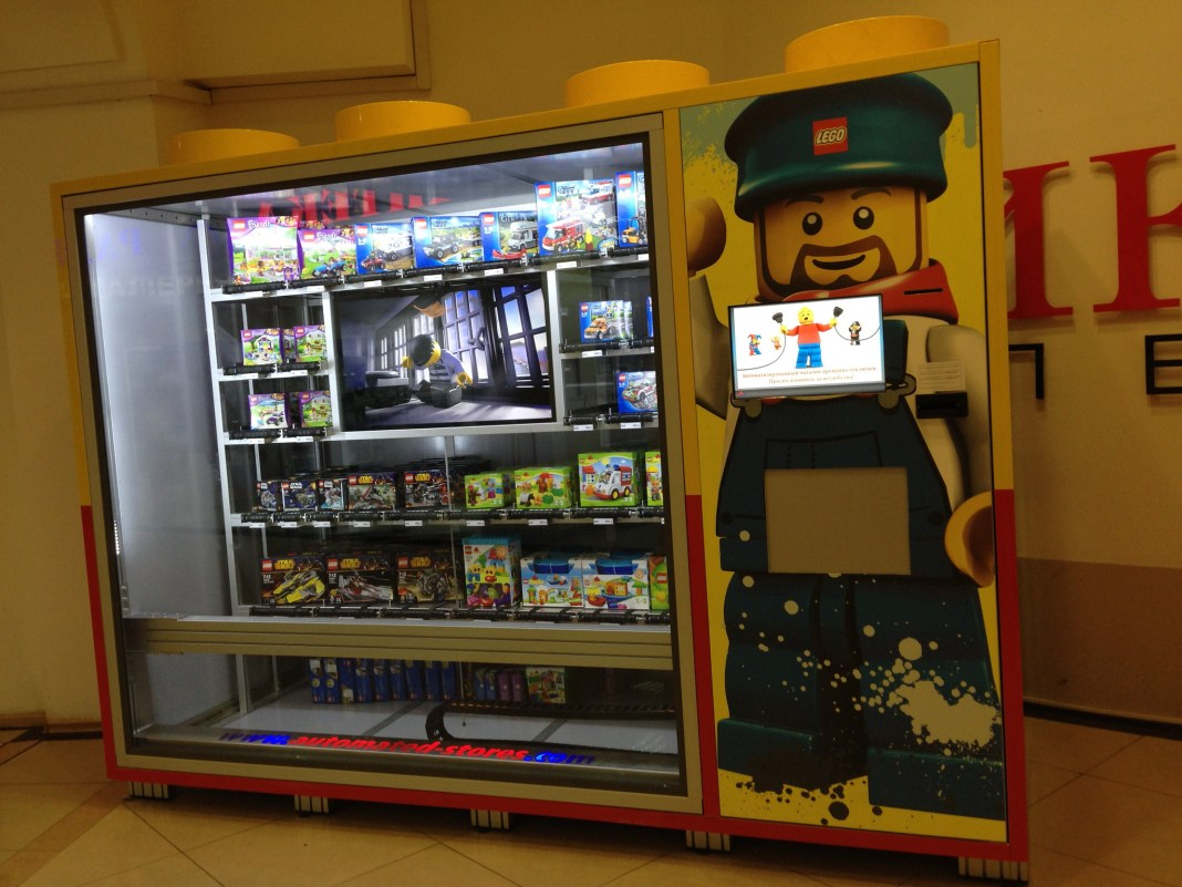 Lego Automated Store 2 by Denis Petrochenkov, on Flickr