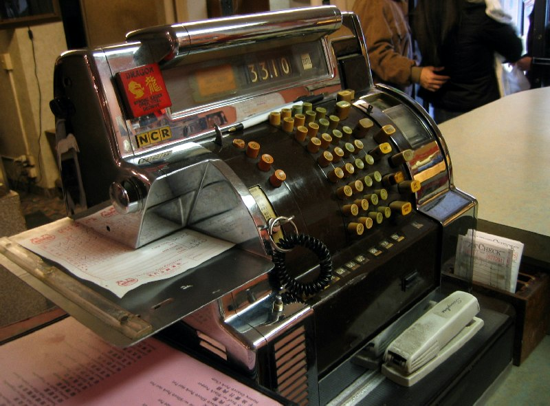 the art of the cash register by joe robertson, on Flickr