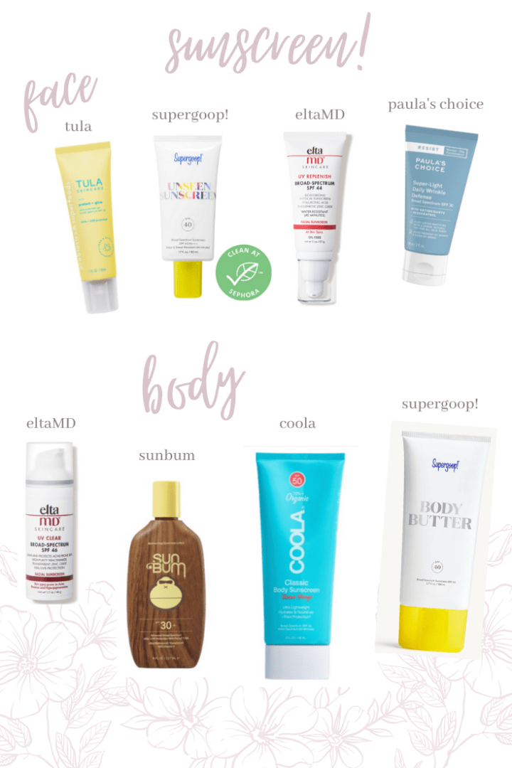 8 Everyday Sunscreens!