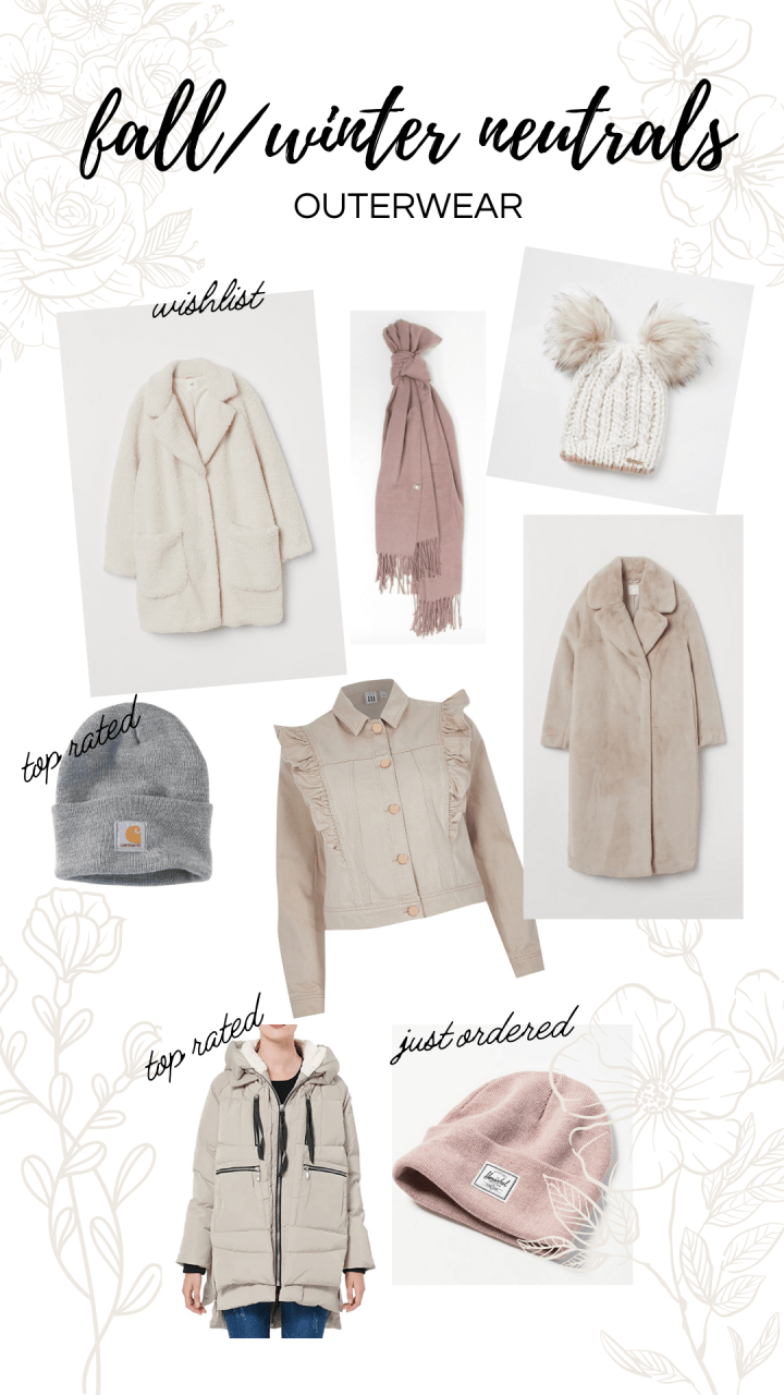 Building a Winter Wardrobe