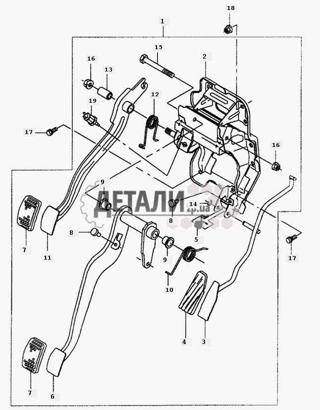 Управление рулевое на Daewoo Matiz II