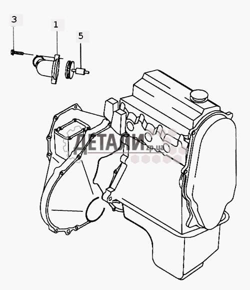 Система охлаждения на Daewoo Matiz