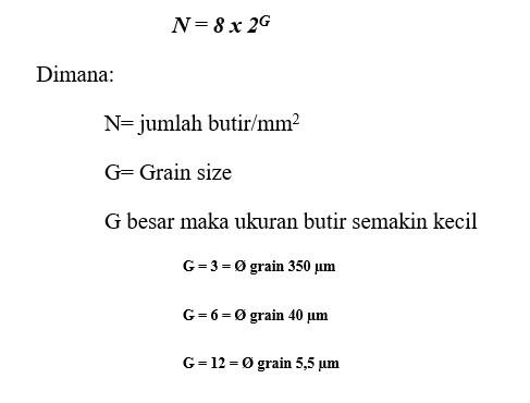 Penentuan grain size