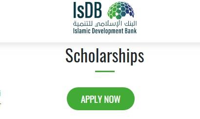 Islamic Development Bank Scholarship Award 2021/2022