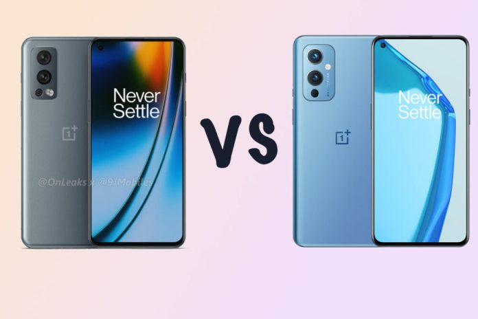 OnePlus Nord 2 vs Nord 9