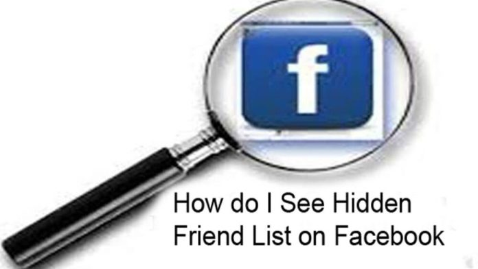 How to View Someone's Hidden Friend List on Facebook