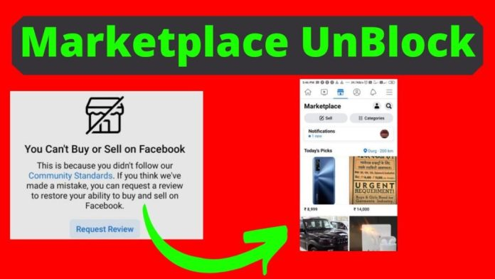 How to Get Unblocked From Marketplace on Facebook