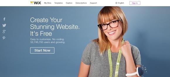 Wix - best free website builder