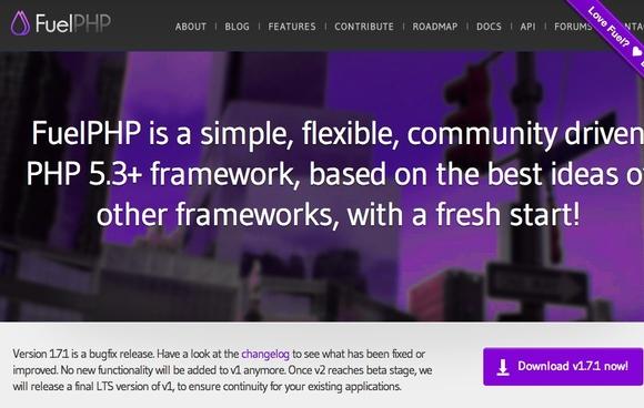 FuelPHP - php framework