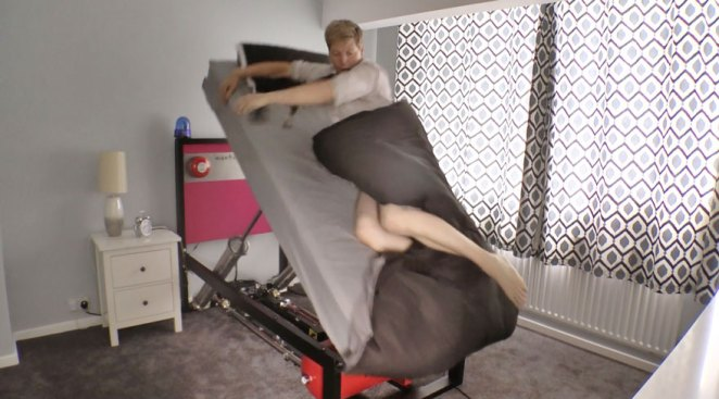 When it's time to wake up, Ejector Bed won't take 'snooze' for an answer