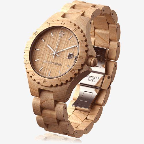 wooden-watch