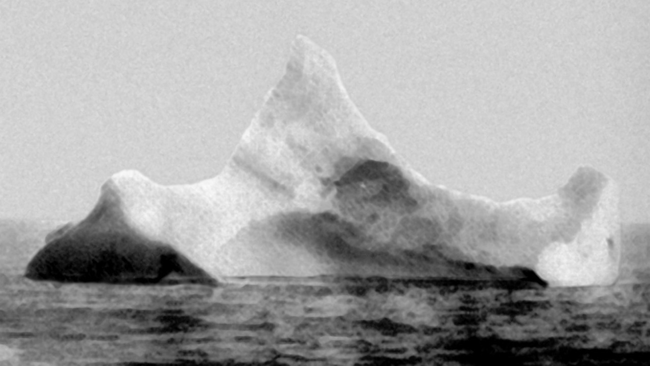 The Iceberg that eventually sank the Titanic journeyed around the the oceans from the year 1000 BCE