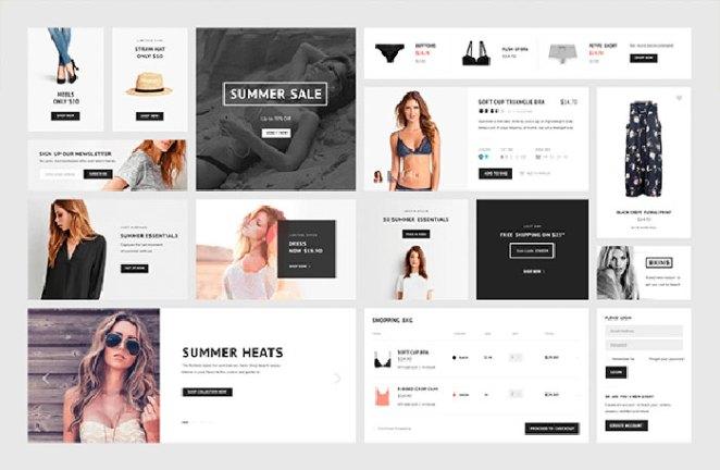 E-commerce elements