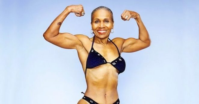 80-year-old Bodybuilder